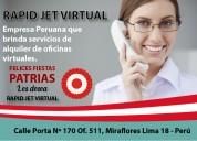 PromociÓn de julio oficinas virtuales