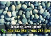Arena y piedras para filtros de agua potable