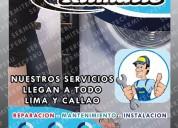 Servicio con garantía-reparación de lavadoras