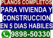 Planos proyectos, planos casas,  industria, edific