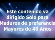 Maduros mayores de 40 años solo lima