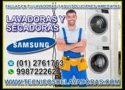 Técnicos a1-reparación de lavadoras samsung -