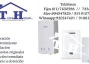 Servicio de termas junkers 7650598/ 951910705