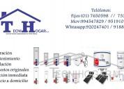 Servicio técnico de termas solÉ 7650598/ 994547829