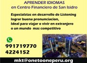 Ingles conversation centro financiero san isidro