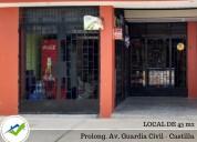 alquiler de local 45 m2 - prolong. guardia civil,