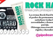 Rock hard - crema para mejores erecciones /sexshop
