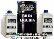 Brea liquida en cilindro de 55 galones