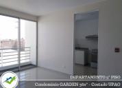 alquiler departamento 3°piso - condominio garden 3