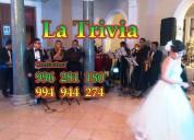Orquesta para cumpleaños matrimonios en lima perú