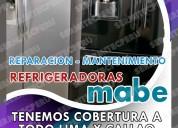 Mabe-técnicos de refrigeradoras 7378107 -san borja
