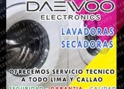 Servicio con garantia| lavadoras daewoo| 7378107