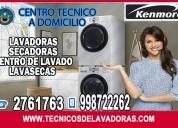 Tecnicos de lavadoras y secadoras kenmore  2761763