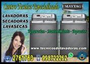 Servicio tecnico maytag (lavadoras y secadoras)