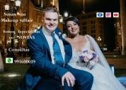 Maquillaje para novias adomicilio lima  991600039