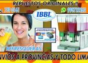 Refresqueras ibbl-bbs 998722262 repuestos original