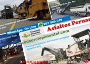 Servicio fresado de asfalto obras viales lima 2020