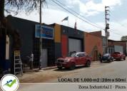 Venta local zona industrial piura