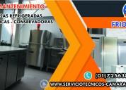 Centro tecnico especializado mesas refrigeradas