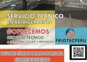 Mantenimiento preventivo vitrinas refrigeradas