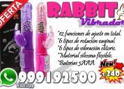 Vibrador rabbit 12 funciones / rotador / clitoris