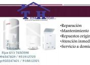 Bosch reparación de termas a gas y eléctricas 7650