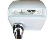 Secador de mano automático blanco 2300 w marca wor