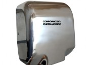 Secador de manos automático de acero 1800 watts