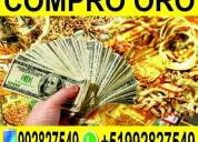 Compro oro - joya