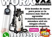 Maximizer worx vx2 bomba vacio sexshop miraflores