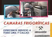 Ahorre dinero!! mantenimiento camaras frigorificas