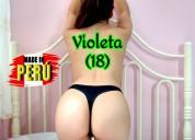 Violeta una linda venezolana de sexy cuerpo.
