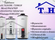 Reparación de  termotanques -termas calorex