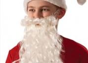 Barbas  y  peluca  papa noel cel : 999023200