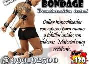 Dominación total / sado bondage sexshop miraflores
