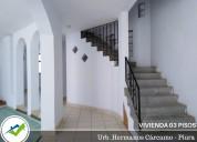 Alquiler de casa en piura, 03 pisos