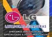 With guarantee!!! técnicos de lavadoras lg- lince