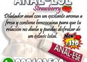 Anal ese /dilatador anal en gel sexshop miraflores