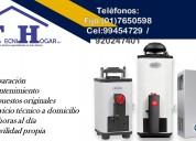 Servicio de termotanques (calorex) (01)7650598
