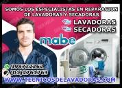 Profesionales mabe 2761763 reparacion de lavadoras