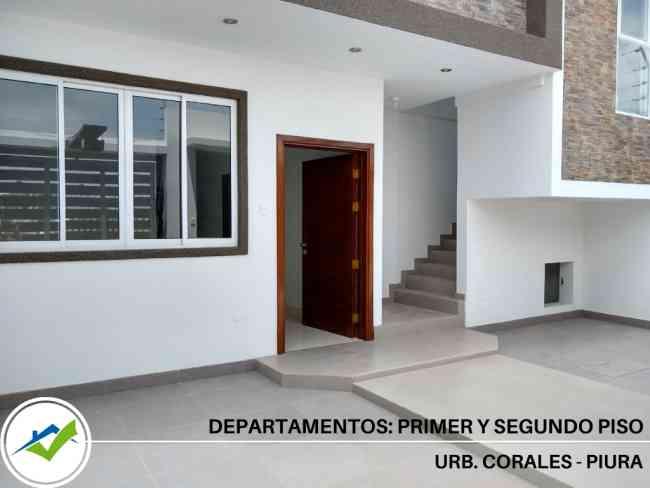DEPARTAMENTOS LOS CORALES - PIURA