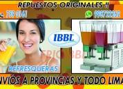 Repuestos refresqueras ibbl bbs 998722262 lima