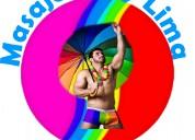 Masajes gay lima  nuevo tantra gay relajación