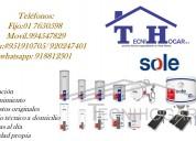 Reparacion de termas sole 7650598 a domicilio