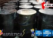 Emulsion asfaltica rotura lenta / intermedia / rap