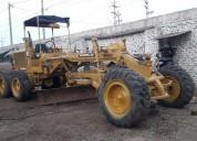 Motoniveladora marca caterpillar 120f, motor 3306