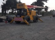 Grua todo terreno marca grove rt58, 4x4, 15 tn