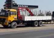 Camión grúa torton (6x4) de cubo solar año 2011