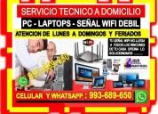 Tecnico de repetidores de internet pc laptops