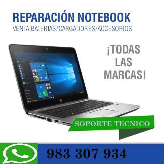 Mantenimiento y reparación especializada laptop